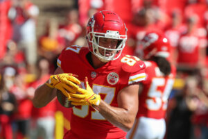 Travis Kelce, Chiefs tight end
